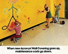 CS introduces Acrovyn® Wall Covering and Panels