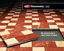 CS introduces Floorometry®, the first modular entrance grid system