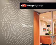 CS introduces graphic wall protection called Acrovyn by Design®