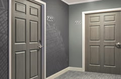 Acrovyn Panel Doors