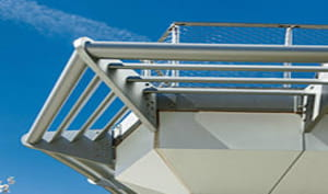 Cantilevered Sunshades
