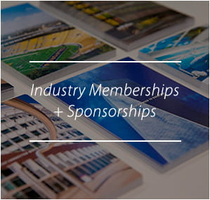 Industry Memberships and Sponsorships