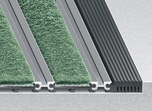 Entrance Mat Frame Mounting Options - No Frame
