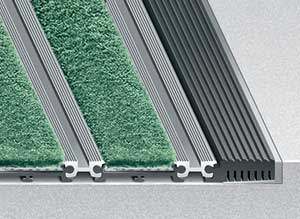 Entrance Mat Frame Mounting Options - Tapered Angle