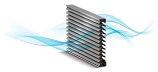 architectural louvers, metal louvers