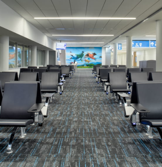 Charlotte Douglas International Aiport Acrovyn by Design
