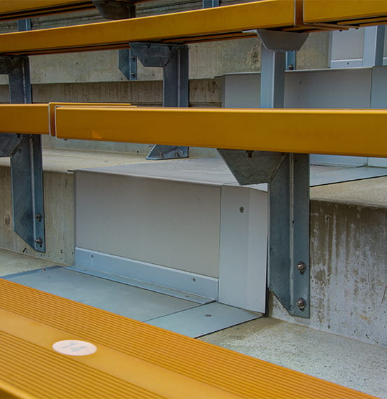 California Memorial Stadium Expansion Joint Covers