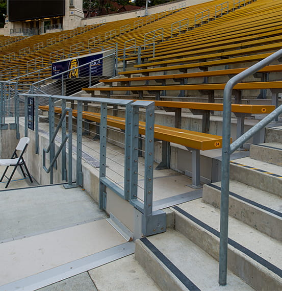Expansion Joint Covers Floor Covers California Memorial Stadium