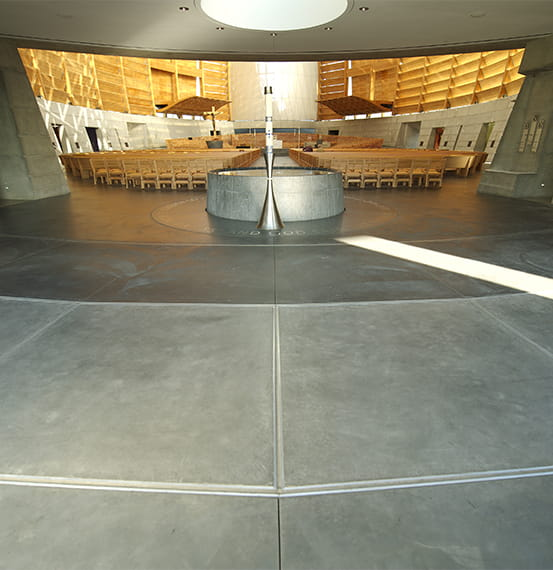 Expansion Joint Covers Floor Covers and Exterior Wall Covers Cathedral of Christ the Light Church
