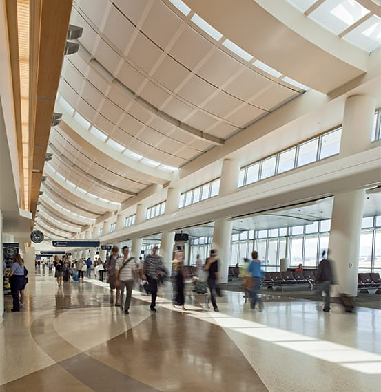 Expansion Joint Covers Exterior Wall Covers Mineta San Jose International Airport