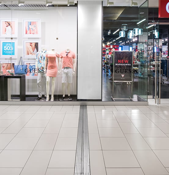 Expansion Joint Covers Floor Covers New Orleans Shopping Center