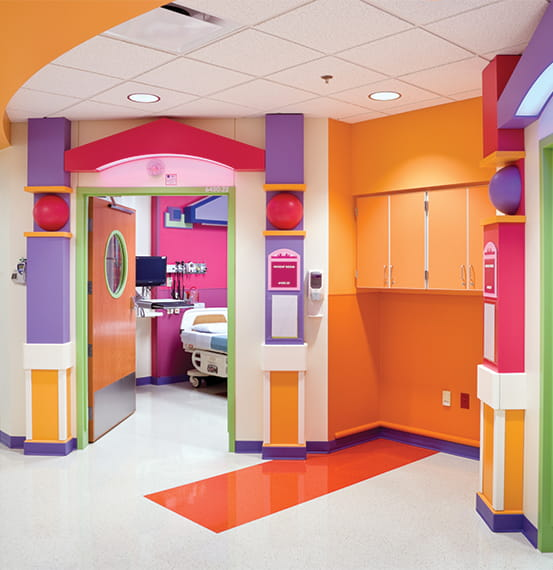 childrens mercy hospital wall covering