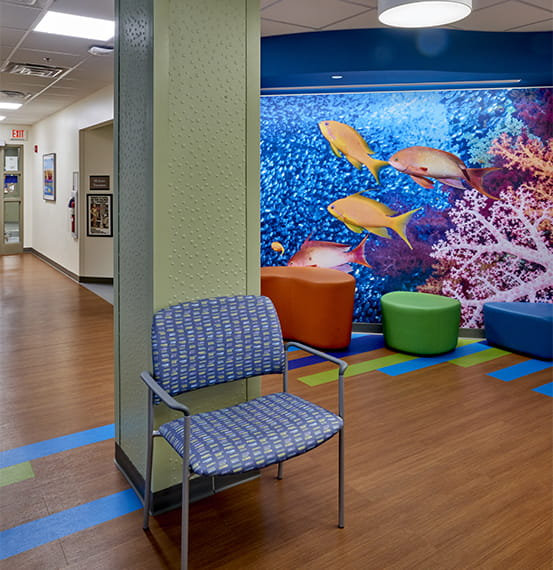 lehigh valley health network center wall covering (1)
