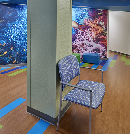 lehigh valley health network center wall covering (2)