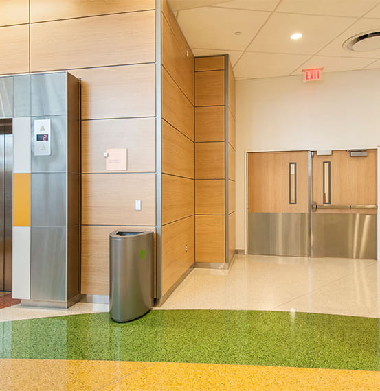 Nemours/Alfred I duPont Hospital for Children Acrovyn Corner Guards Acrovyn Headwall Wall Panels Acrovyn by Design Acrovyn Doors