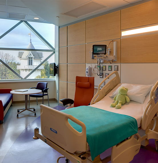 nemours alfred i dupont hospital for children wall panels
