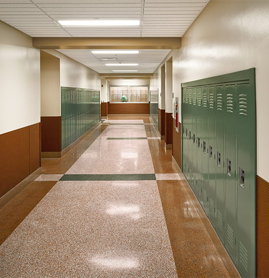 yough intermediate middle school wall covering (1)