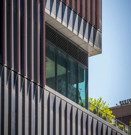 John Jay College Storm-Resistant Louvers