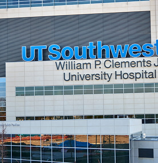 ut southwestern william p clements university hospital