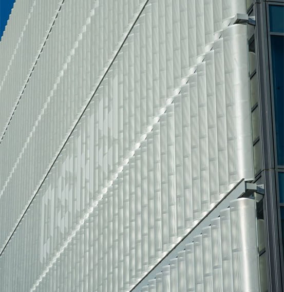Department of Sanitation in New York Perform Louvers