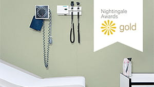 nightingale awards gold abd patient room