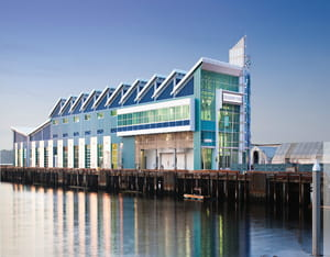 Broadway Pier Cruise Terminal Port Drainable Perform and Sightproof Louvers