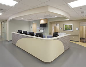 faulkner hospital wall covering primary