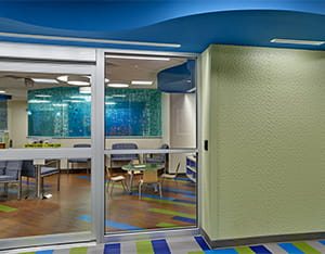 lehigh valley health network center wall covering primary