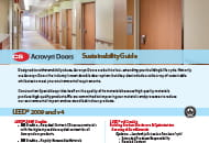 acrovyn doors sustainability guide