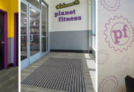 Pedimat Entry Mat Systems and Acrovyn Interior Product Systems Planet Fitness