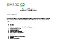 mbdc pedisystems red list letter