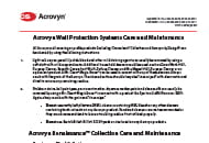 acrovyn 4000 care and maintenance