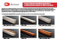 acrovyn behavior health handrails flyer