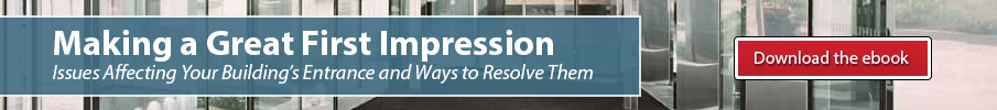 Making a Great First Impression ebook - Issues affecting your building's entrance and ways to resolve them
