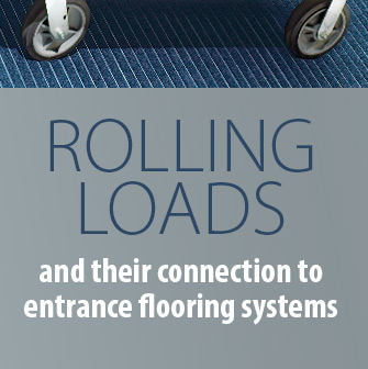 Rolling Loads and their connection to entrance flooring systems