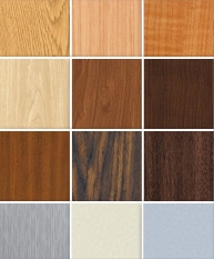 Acrovyn Door Colors and Finishes