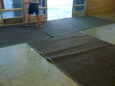 Think Before You Rent a Throw Down Mat