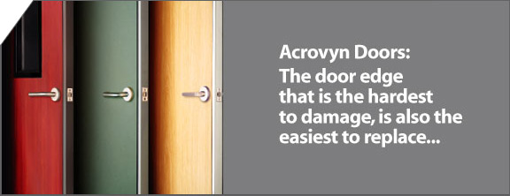 Acrovyn Doors The Door Edge That Is The Hardest To Damage & Acrovyn Door Frame Protection.CS Acrovyn Door Frame Protection ...