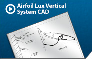 Airfoil Lux Vertical System CAD Drawing