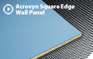 ACROVYN SQUARE EDGE WALL PANELS