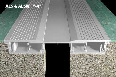 Serrated Floor Expansion Joint Cover 1 4 Cs Cs