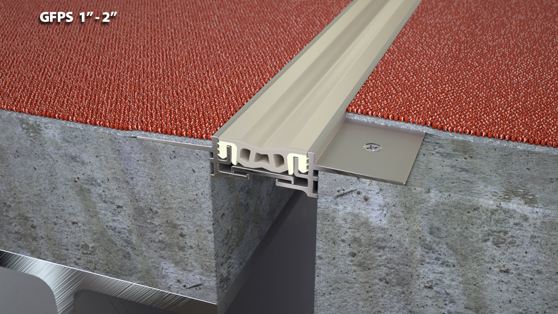 Expansion Joint Covers : Flush no blockout floor expansion joint cover quot cs