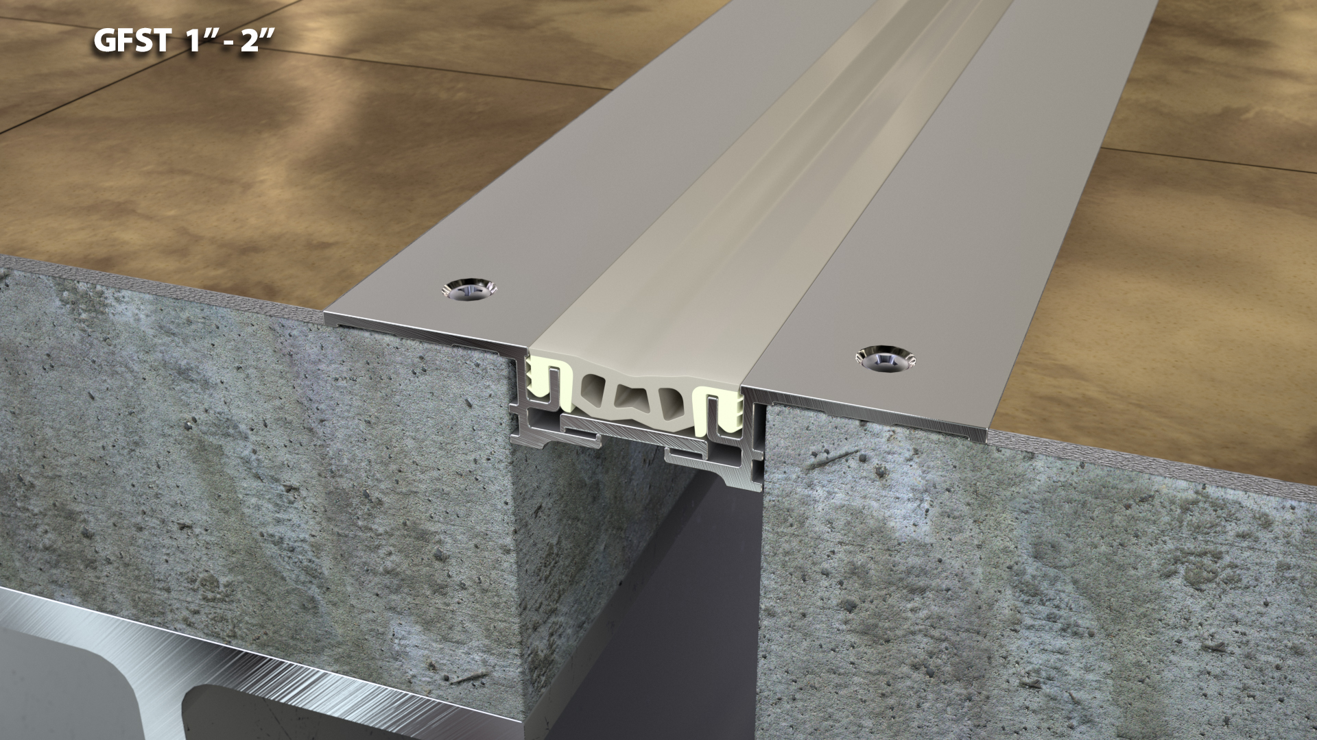 Expansion Joint Covers : Tile retrofit floor expansion joint cover quot cs