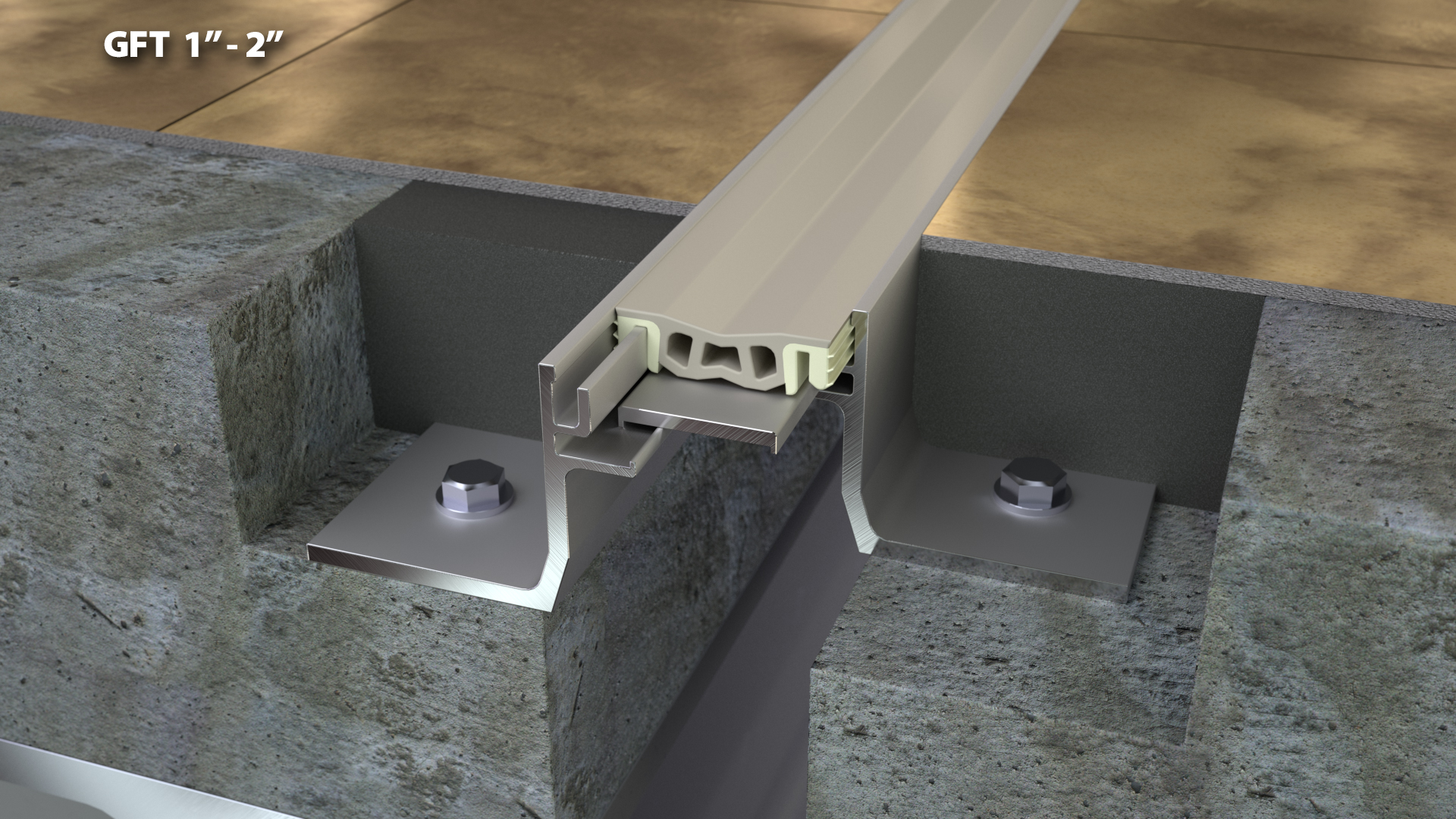 Expansion Joint Covers : Flush floor expansion joint cover quot cs