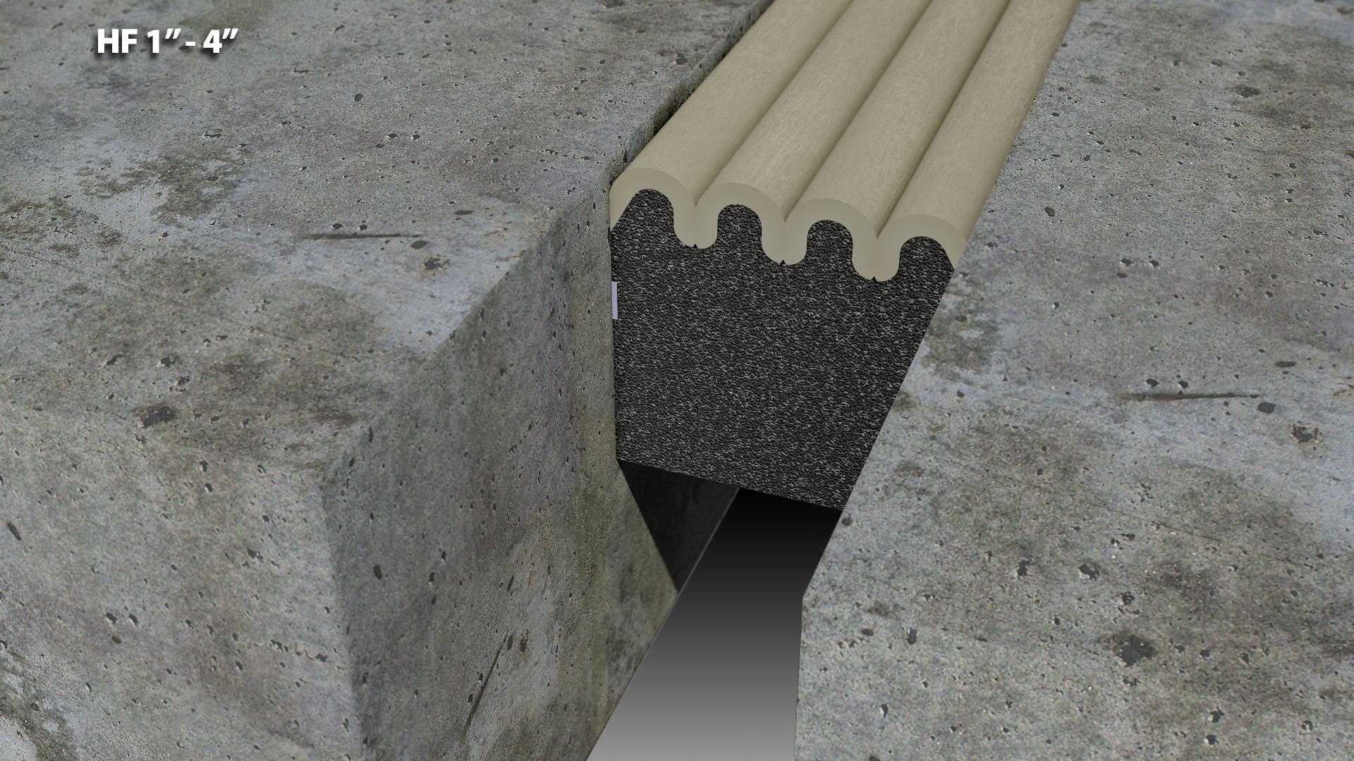 Polyurethane foam expansion joint quot cs