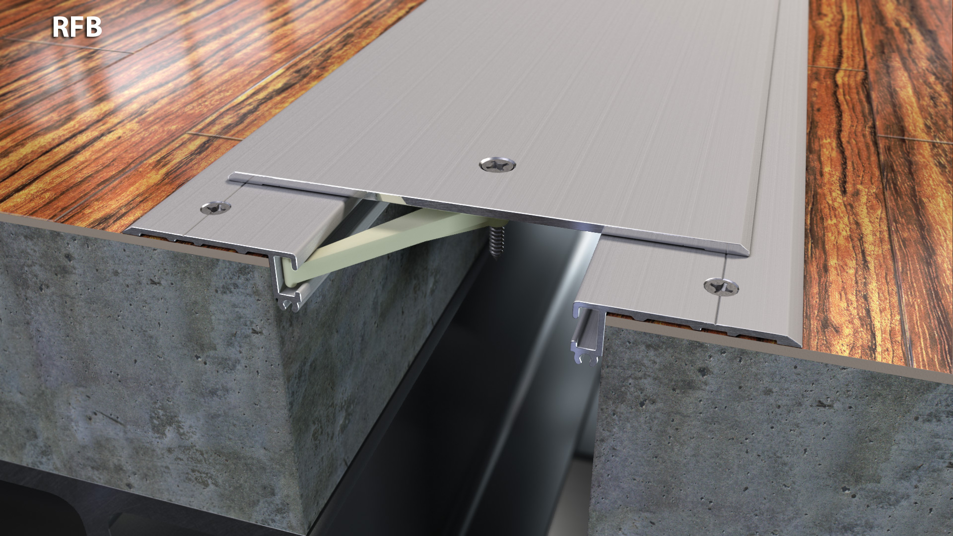 Expansion Joint Covers : Surface mount floor expansion joint cover quot cs