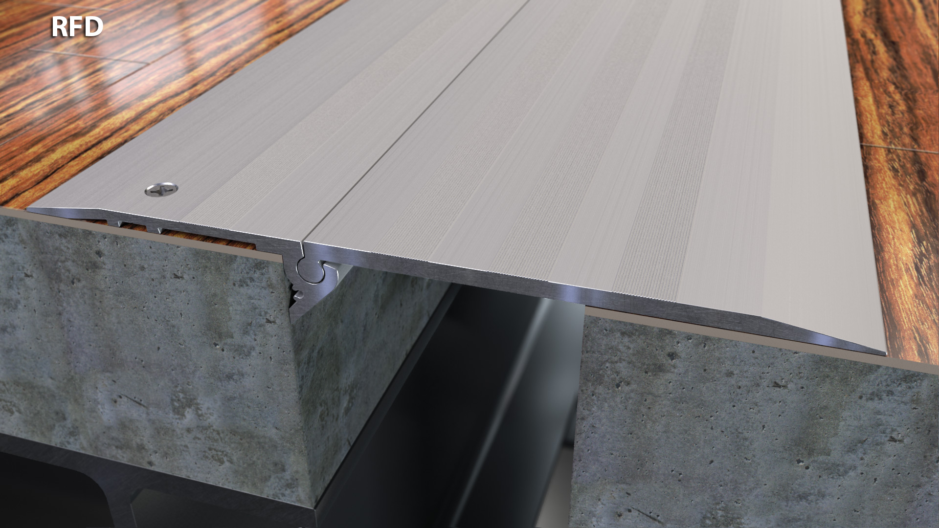Expansion Joint Covers : Tapered surface mount floor expansion joint quot cs