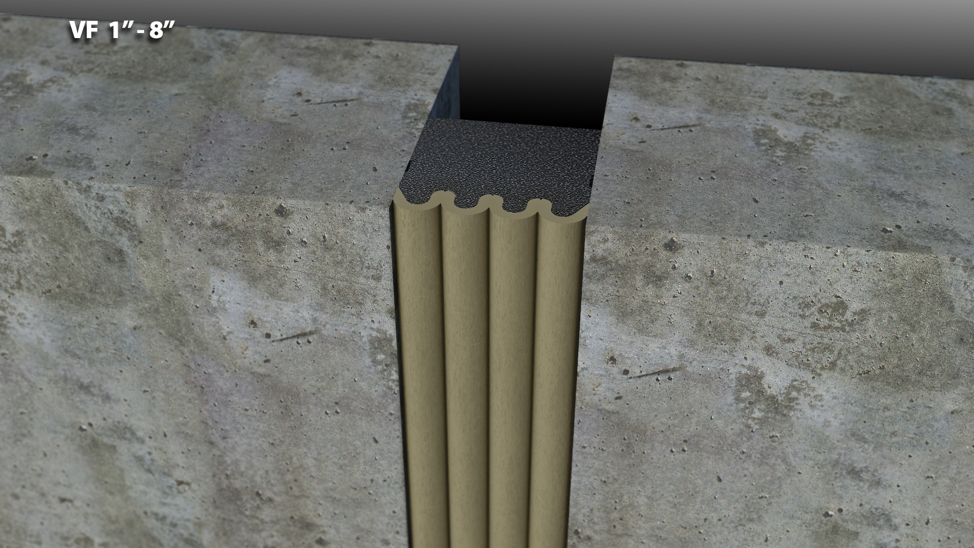 Expansion Joint Covers : Compressible foam expansion joint cover cs