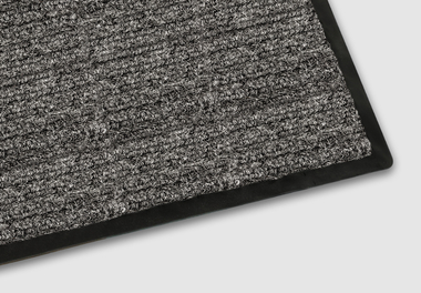 Vinyl-backed Mats Double Rib